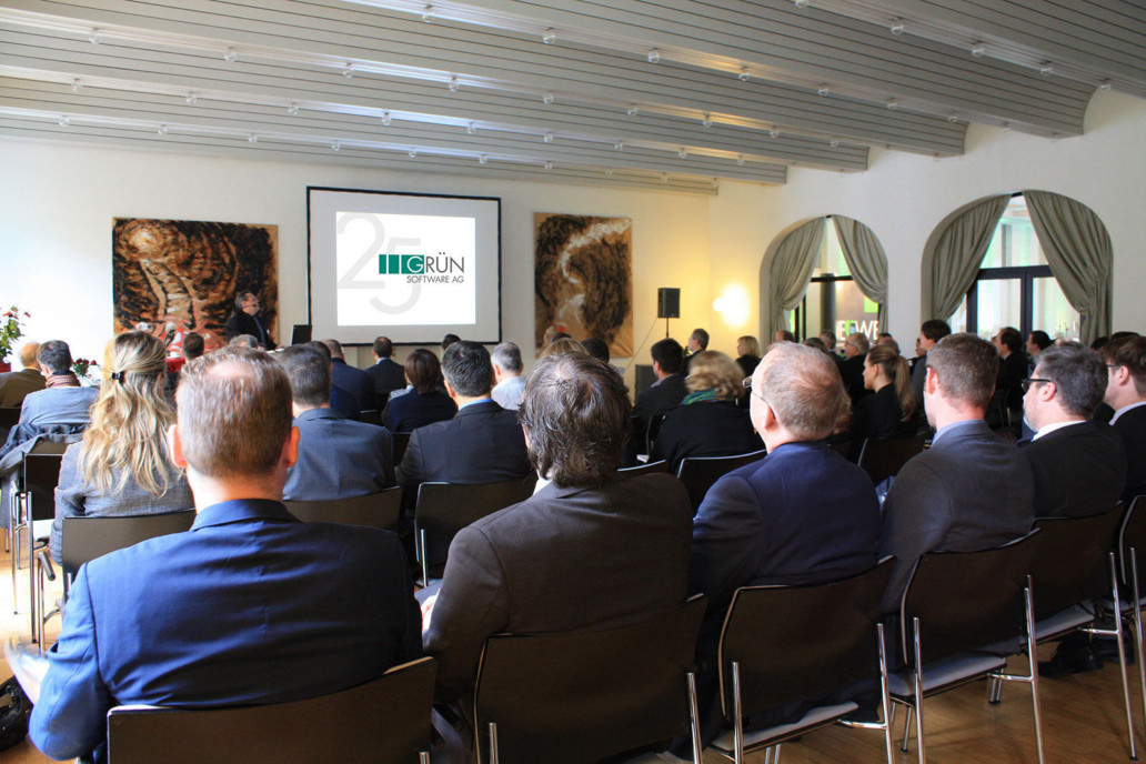 GRÜN Info day 2014: New software features and customer presentations