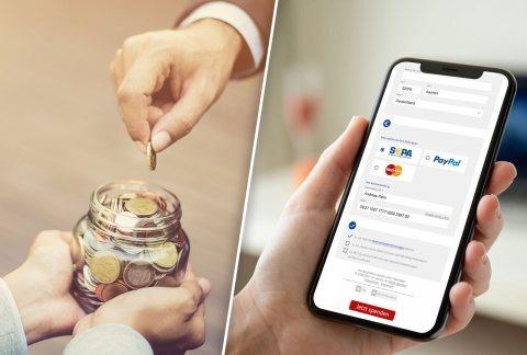 Anlassspenden können online oder offline gesammelt werden. Mit der GRÜN IMB und GRÜN spendino bietet die GRÜN Software Group den Spendenorganisationen gleich zwei Software-Lösungen zum Sammeln von Anlassspenden.