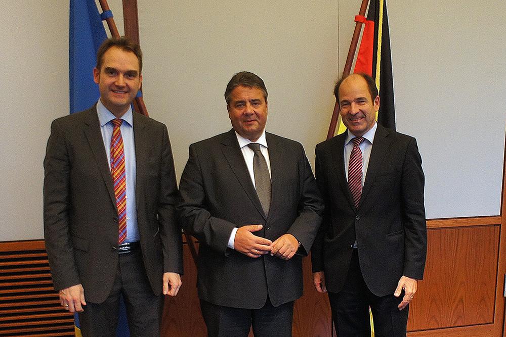 BITMi-Spitze trifft Bundeswirtschaftsminister Sigmar Gabriel