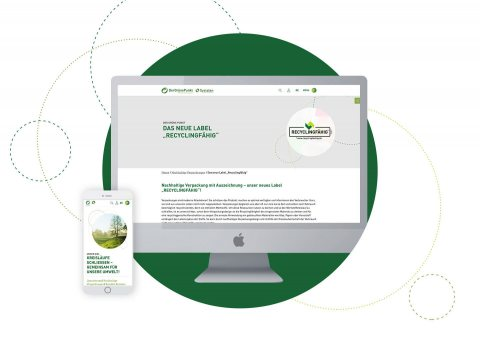 """Softrelaunch der Website vom """"Grünen Punkt"""" durch Digitalagentur giftGRÜN"""