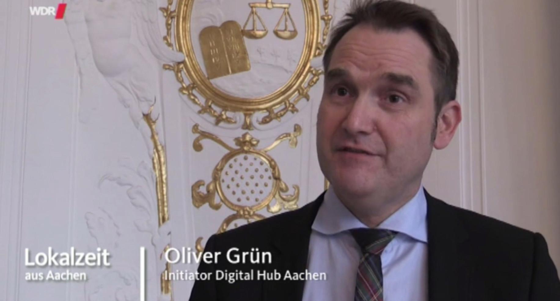 GRÜN Software AG als Initiator für einen Digital Hub in Aachen