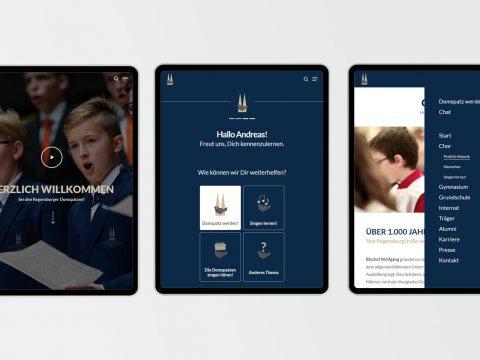 giftGRÜN relauncht Website vom ältesten Knabenchor der Welt