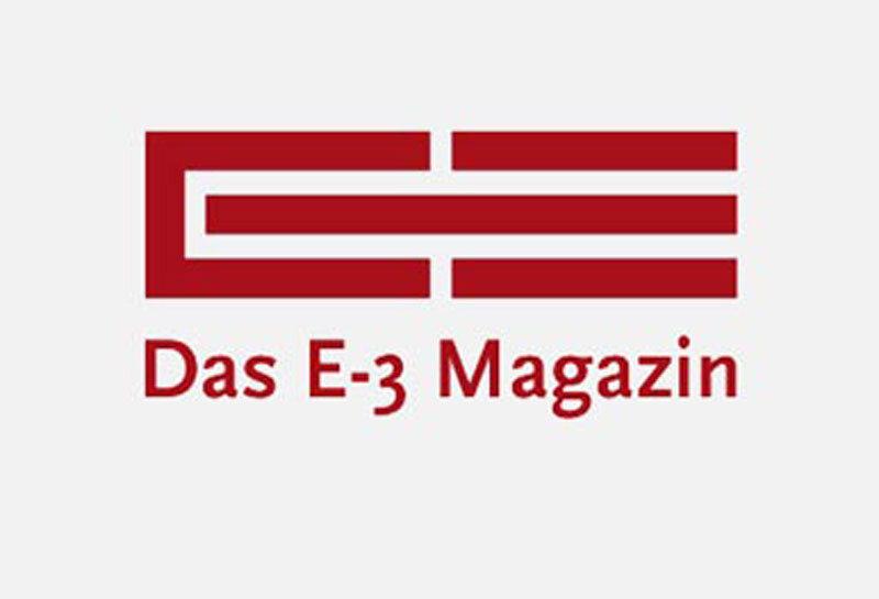 Die GRÜN Software AG im E-3 Magazin.