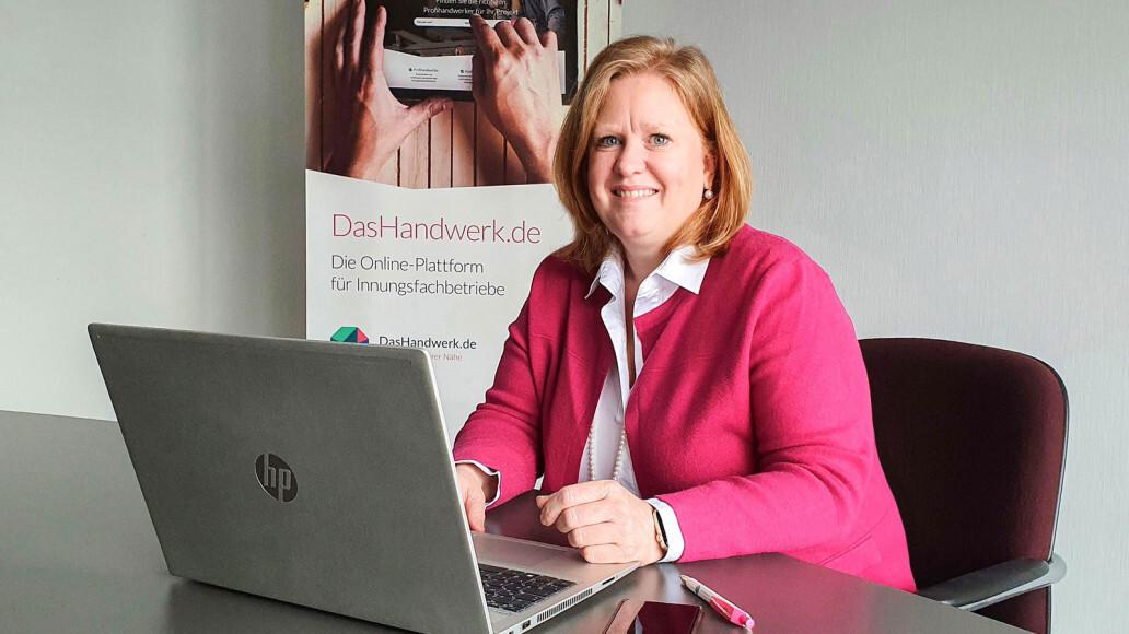 Managing Director of the new GRÜN Handwerk Digital GmbH: Gabriele Philipp.