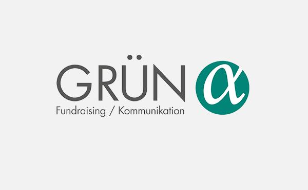 GRÜN alpha ist die neue Fundraising-Agentur der GRÜN Gruppe.