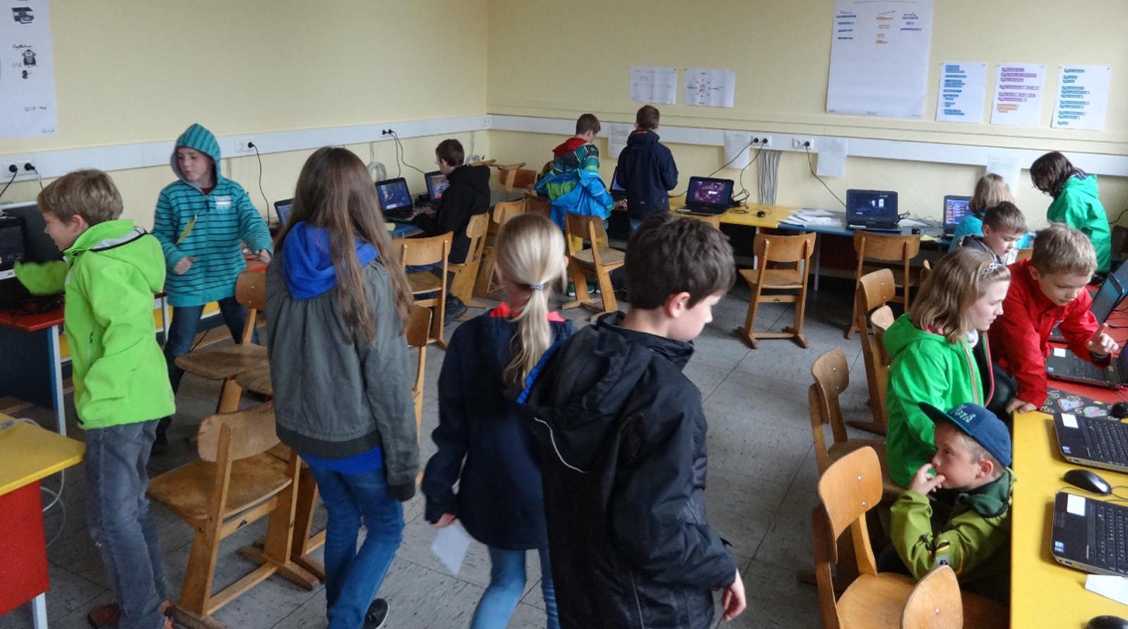 Programmieren ist cool – GRÜN an Schulen