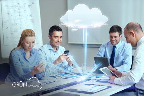 Die GRÜN App Cloud ebnet GRÜN-Kunden den Weg in die Digitalisierung.