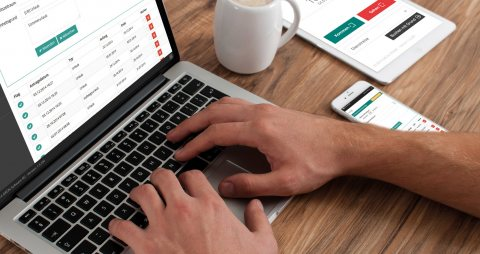 Manage time management online: GRÜN eZICOM5
