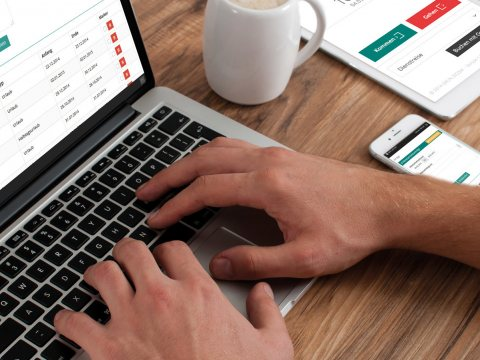 Zeitwirtschaft internetbasiert managen: GRÜN eZICOM5