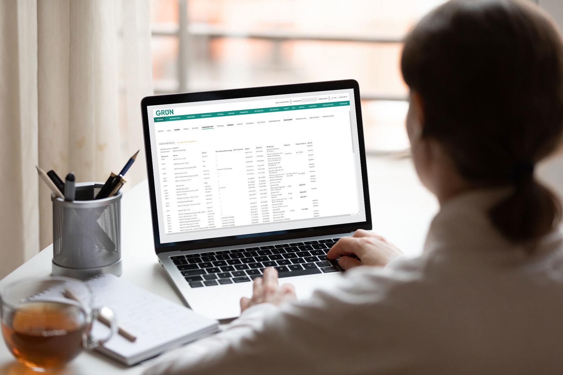 Die Intelligent-Marketing-Base (IMB) für Non-Profit-Organisationen ist eine Softwarelösung mit dem Schwerpunkt des automatisierten Kampagnenmanagements.