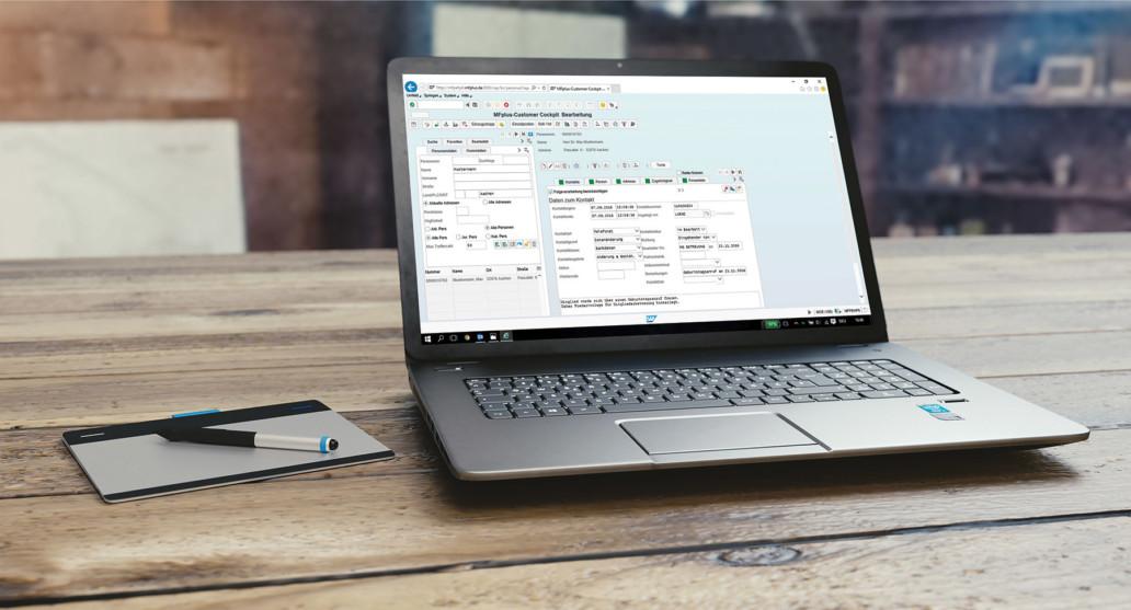 GRÜN MFplus komplett in die GRÜN Software AG eingegliedert
