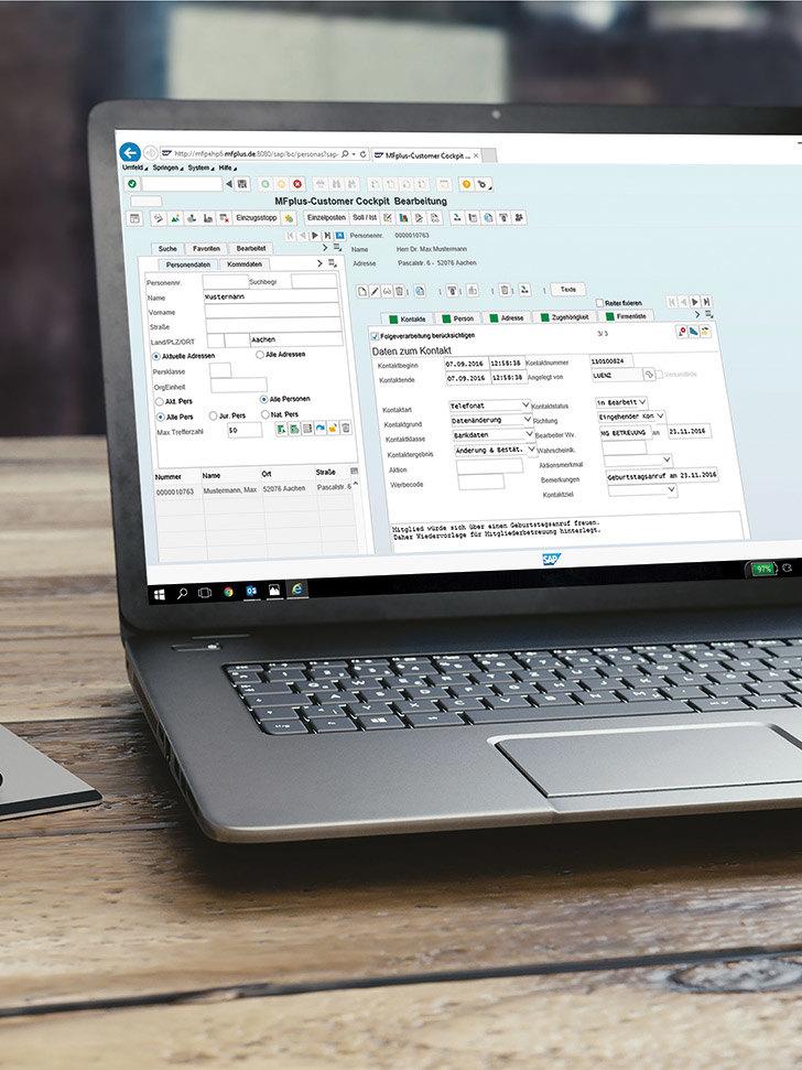 GRÜN MFplus completely into the GRÜN Software AG incorporated
