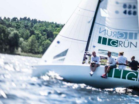 Das GRÜN Sailing hat 2019 an 12 Segelregatten teilgenommen.