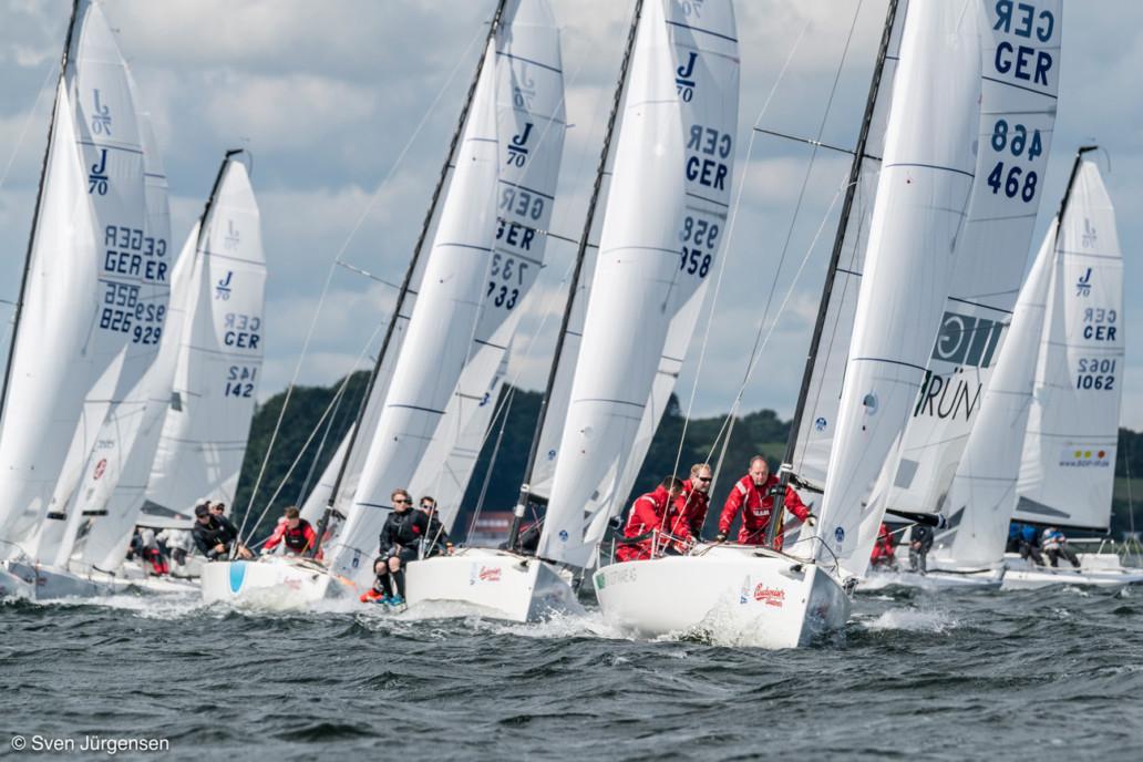 Das GRÜN Sailing Team ist Deutscher Corinthian Meister. @Foto: Sven Jürgensen