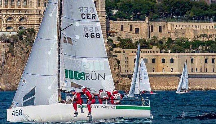5. Platz beim Primo Cup Trophée Credit Suisse in Monaco