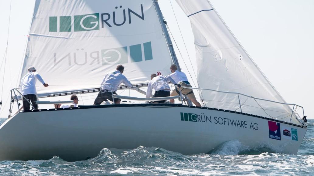 GRÜN Sailing Team: Sport-Sponsoring im Hightech-Segeln