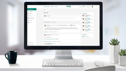 GRÜN.SOCIAL2: Social Collaboration mit eVEWA-Integration