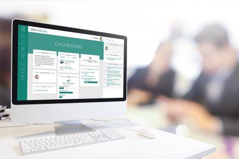 GRÜN.SOCIAL ist die neue Online Social-Software der GRÜN Software AG für Organisationen und Unternehmen.