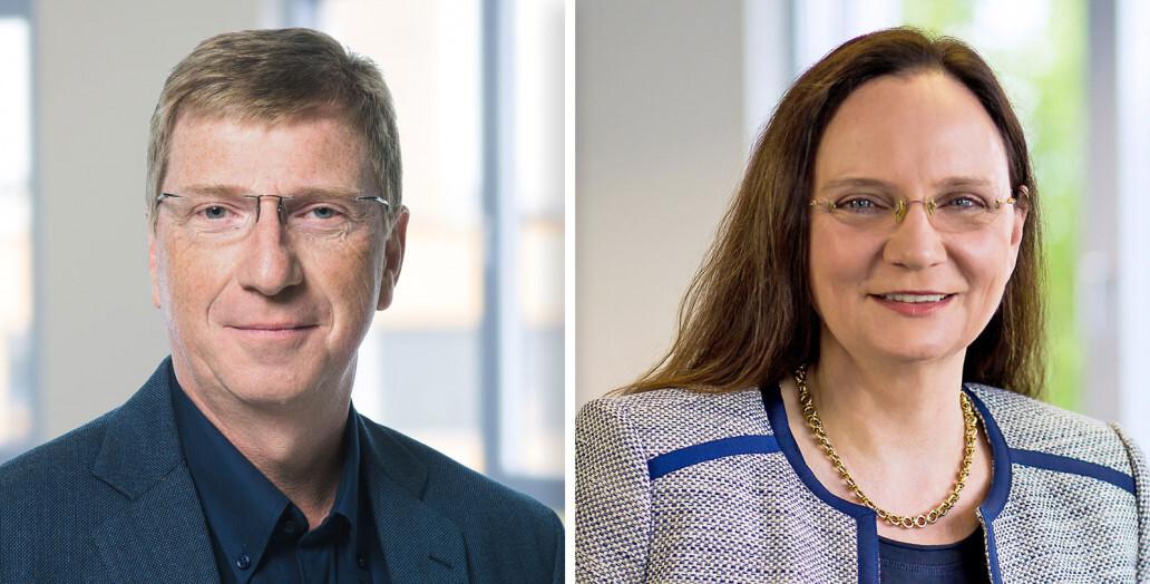 Geschäftsleitung der GRÜN NTX GmbH: Rainer Heckmann (CEO) und Carola Fornoff (COO).