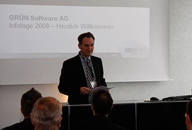 Oliver Grün beim GRÜN Infotag 2008