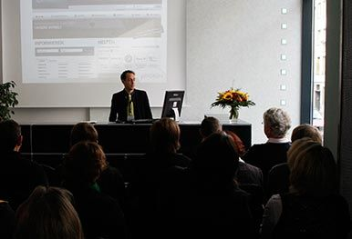 Patrick Heinker, giftGRÜN, beim GRÜN Infotag 2007