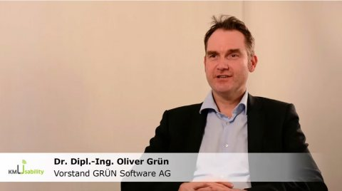 Interview with Oliver Grün about the research project KompUEterchen4KMU
