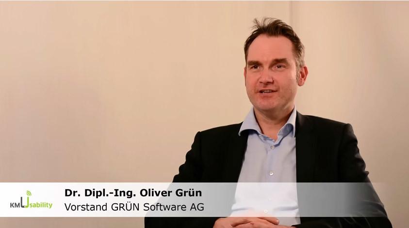 Interview mit Oliver Grün zum Forschungsprojekt KompUEterchen4KMU