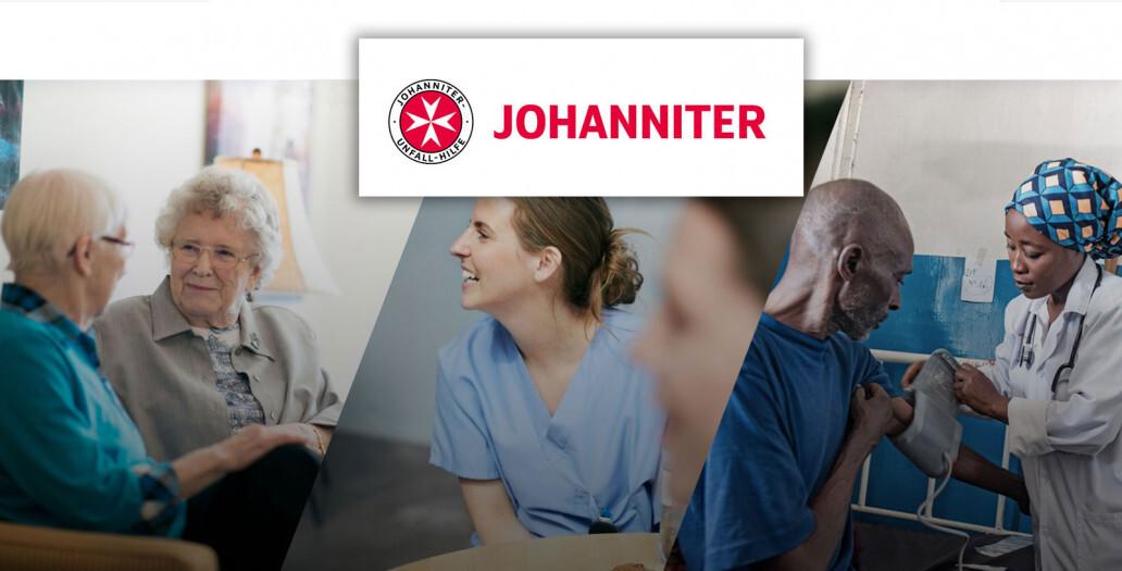 Die Johanniter setzen auf das Online Spendenformular von GRÜN spendino