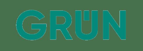Das neue Logo der GRÜN Gruppe rund um die GRÜN Software AG.