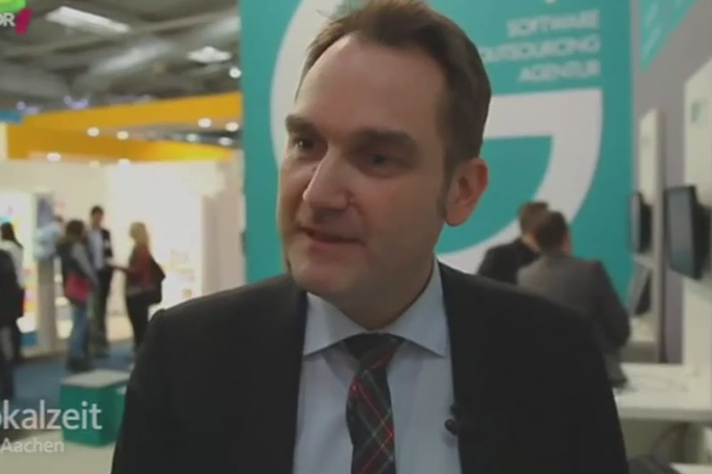 Local time Aachen: A report about Aachen companies at CeBIT 2015 in Hanover