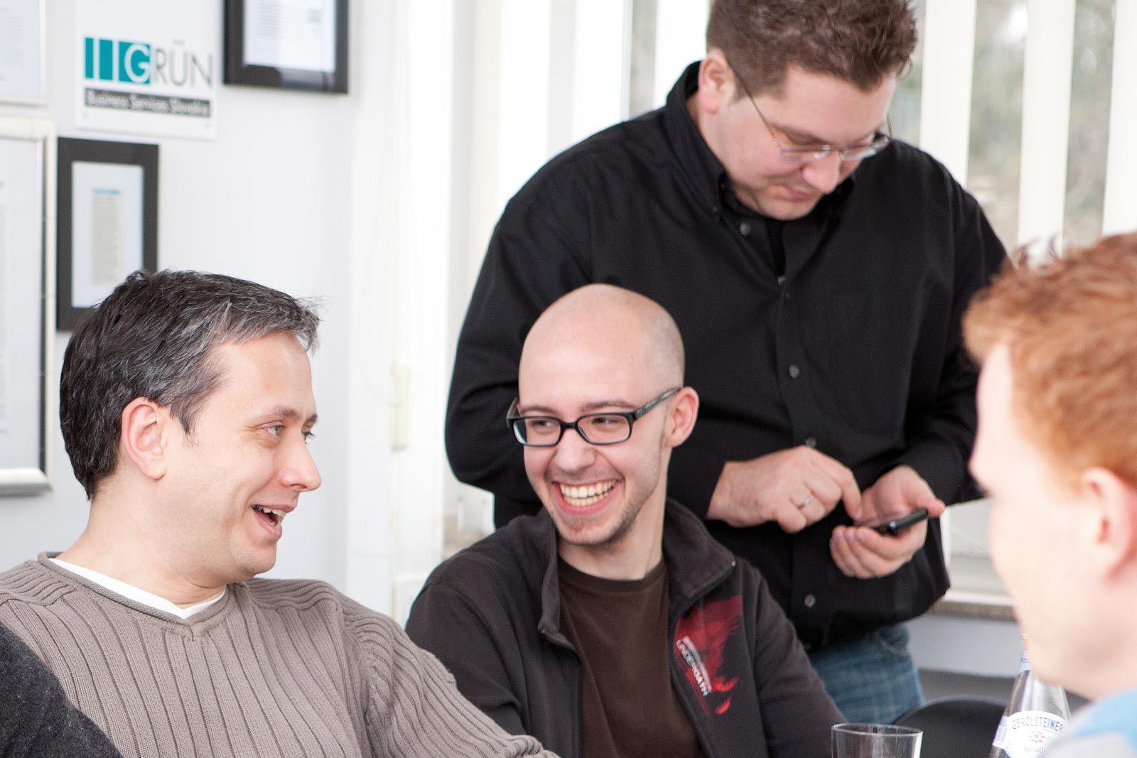 Mitarbeiter der GRÜN Software AG