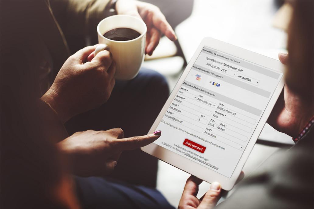 Über 100 Neu-Kunden haben sich in den letzten 12 Monaten für GRÜN spendino als Online-Fundraising-Lösung entschieden.