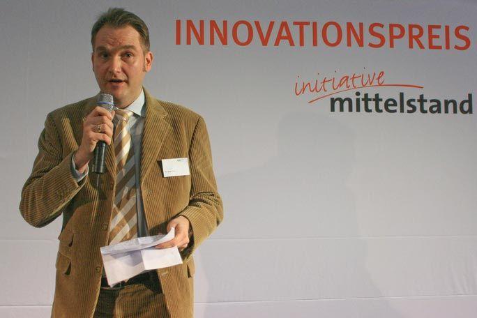 Oliver Grün hält Keynote zum Innovationspreis 2008