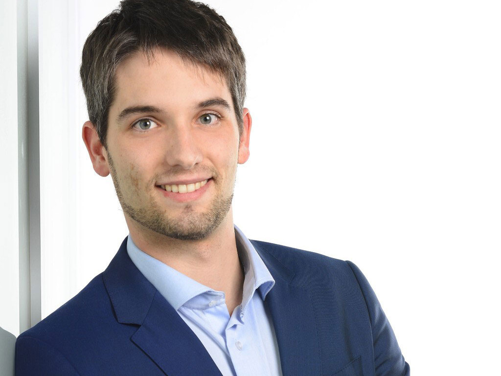 Patrick Mengel, data portal development project manager at the Lower Saxony nursing education fund.