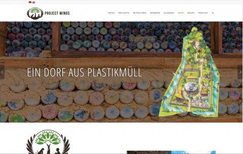 Project Wings Website
