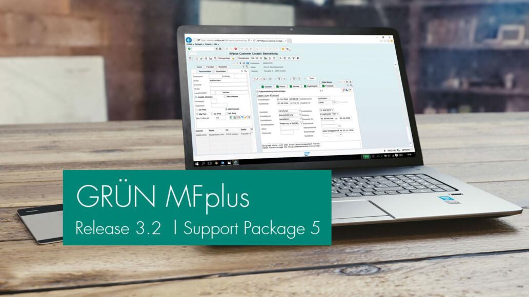 GRÜN MFplus Support-Package 5 veröffentlicht.