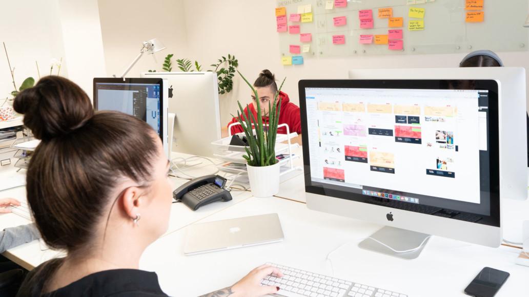 Digitalagentur giftGRÜN erstellt Webseiten auf TYPO3 oder WordPress Basis