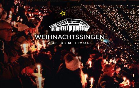 Die GRÜN Software AG unterstützt auch 2019 das Weihnachtssingen auf dem Aachener Tivoli als Sponsor.