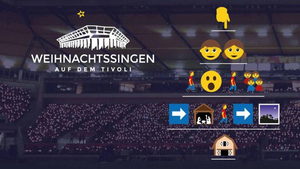 Das Weihnachtssingen 2016 findet am Sonntag, den 18. Dezember 2016 (4. Advent) von 18 Uhr bis 19.30 Uhr (Vorprogramm ab 17 Uhr) auf dem Aachener Tivoli stat